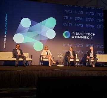 Image of speakers at the 2019 Insuretech Connect Conference